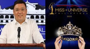 Harry Roque Joins Beauty Queens, Et al. As Miss Universe PH 2020 Judge