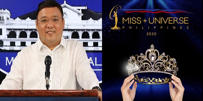 Harry Roque Miss Universe Philippines 2020