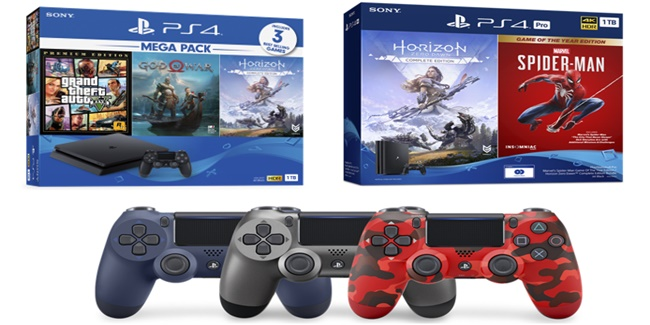 PlayStation 4 console Promo