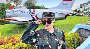 Arci Munoz is Now Sergeant of the Philippine Air Force Reserve Command