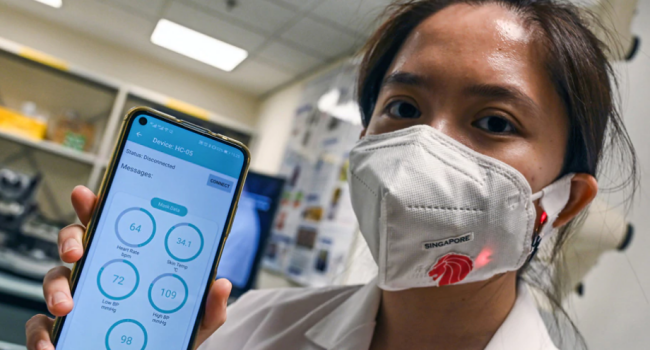High-Tech Face Mask Sold In Japan Can Be Used As Translator