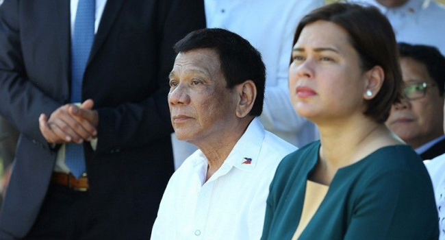 Duterte Relays Important Message To Sara, Paolo