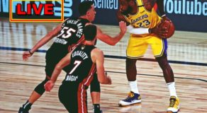NBA Finals 2020: Los Angeles Lakers vs Miami Heat Game 1 (Live Scoreboard)
