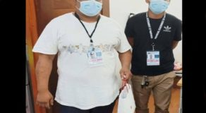 2 Honest Security Guards Return Lost P200k to Owner