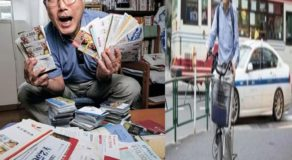 Japanese Grandpa Hasn't Spent Money & Only Used Vouchers for 36 Years
