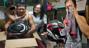 Loving Wife Makes Husband Cry After Surprising Him w/ EVO Helmet