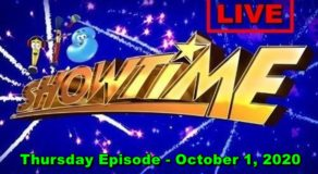 ABS-CBN It's Showtime – October 1, 2020 Episode (Live Streaming)