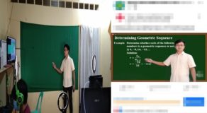Math Teacher Makes High-Tech Live Streaming for Effective Teaching