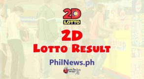 2D LOTTO RESULT Today, Monday, January 25, 2021