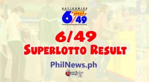 6/49 LOTTO RESULT Today, Sunday, January 24, 2021