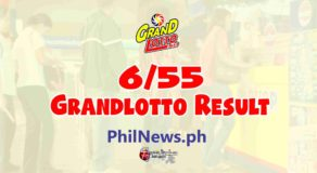 6/55 LOTTO RESULT Today, Wednesday, January 27, 2021
