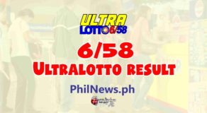 6/58 LOTTO RESULT Today, Friday, March 5, 2021