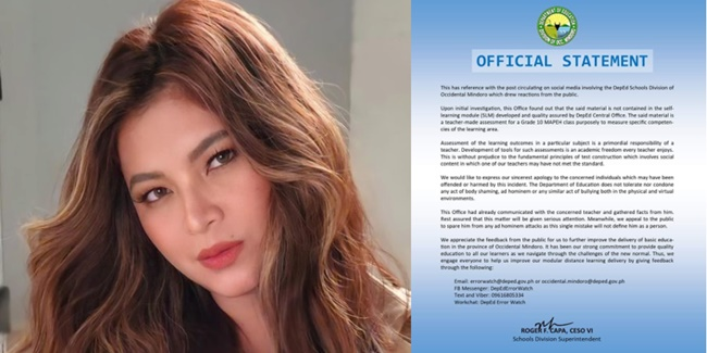 Angel Locsin DepEd Module Body-shaming 1