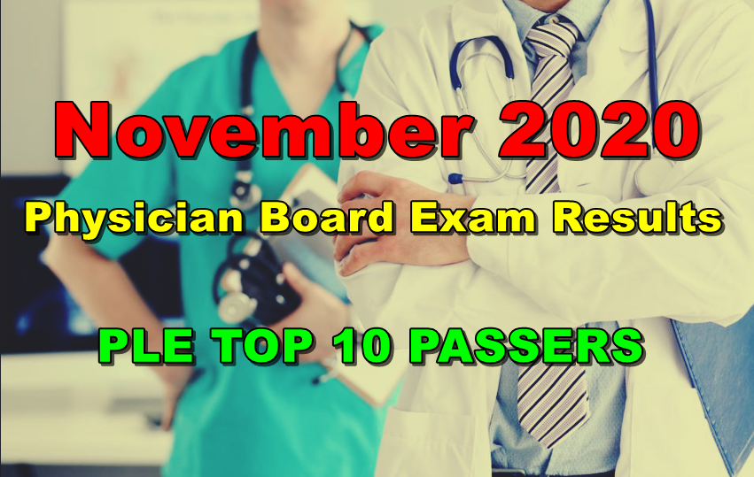 Physician Board Exam PLE