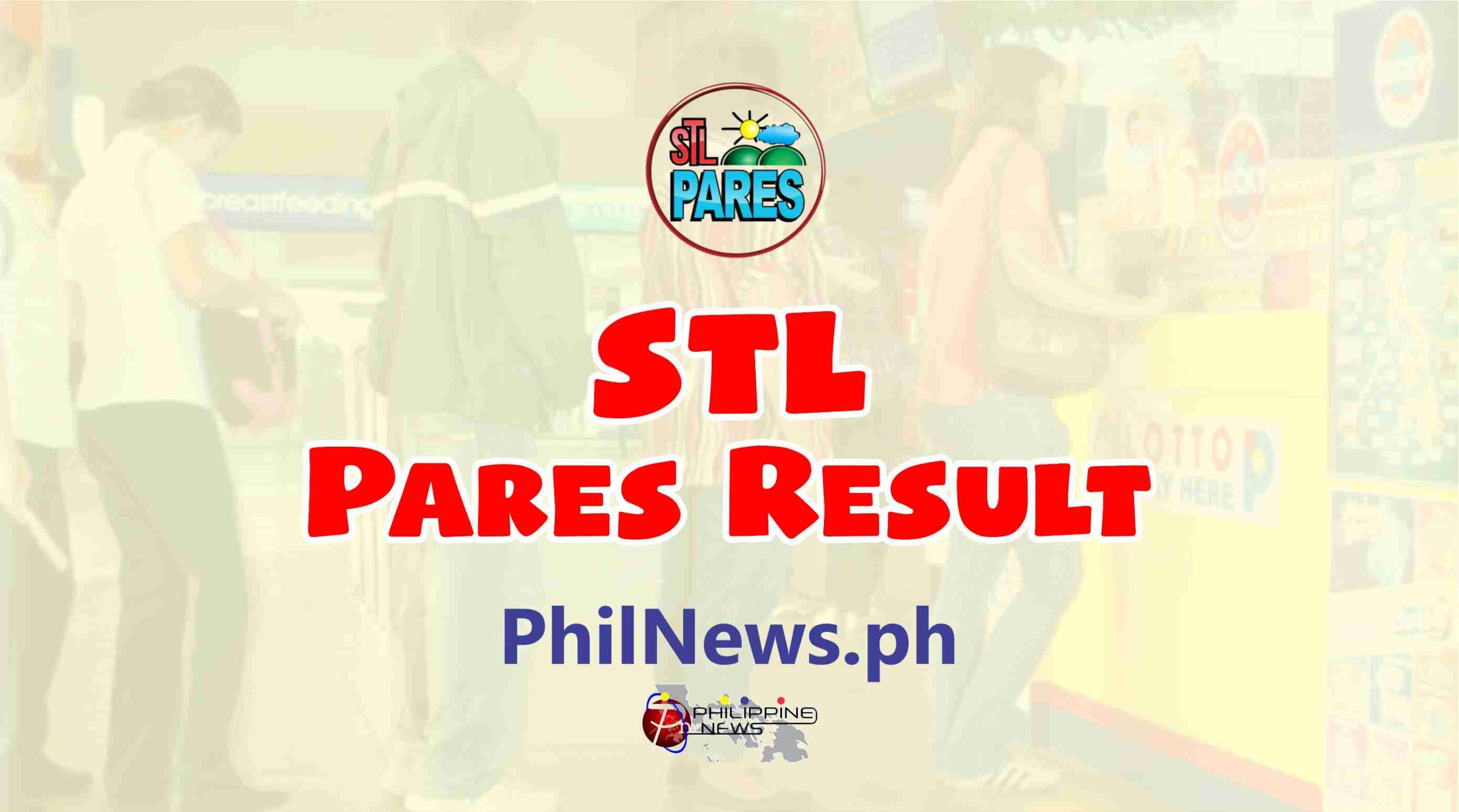 STL Pares Lotto Result