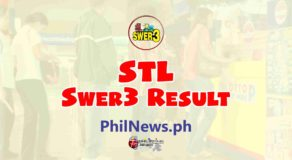 STL SWER3 RESULT Today, Monday, January 25, 2021
