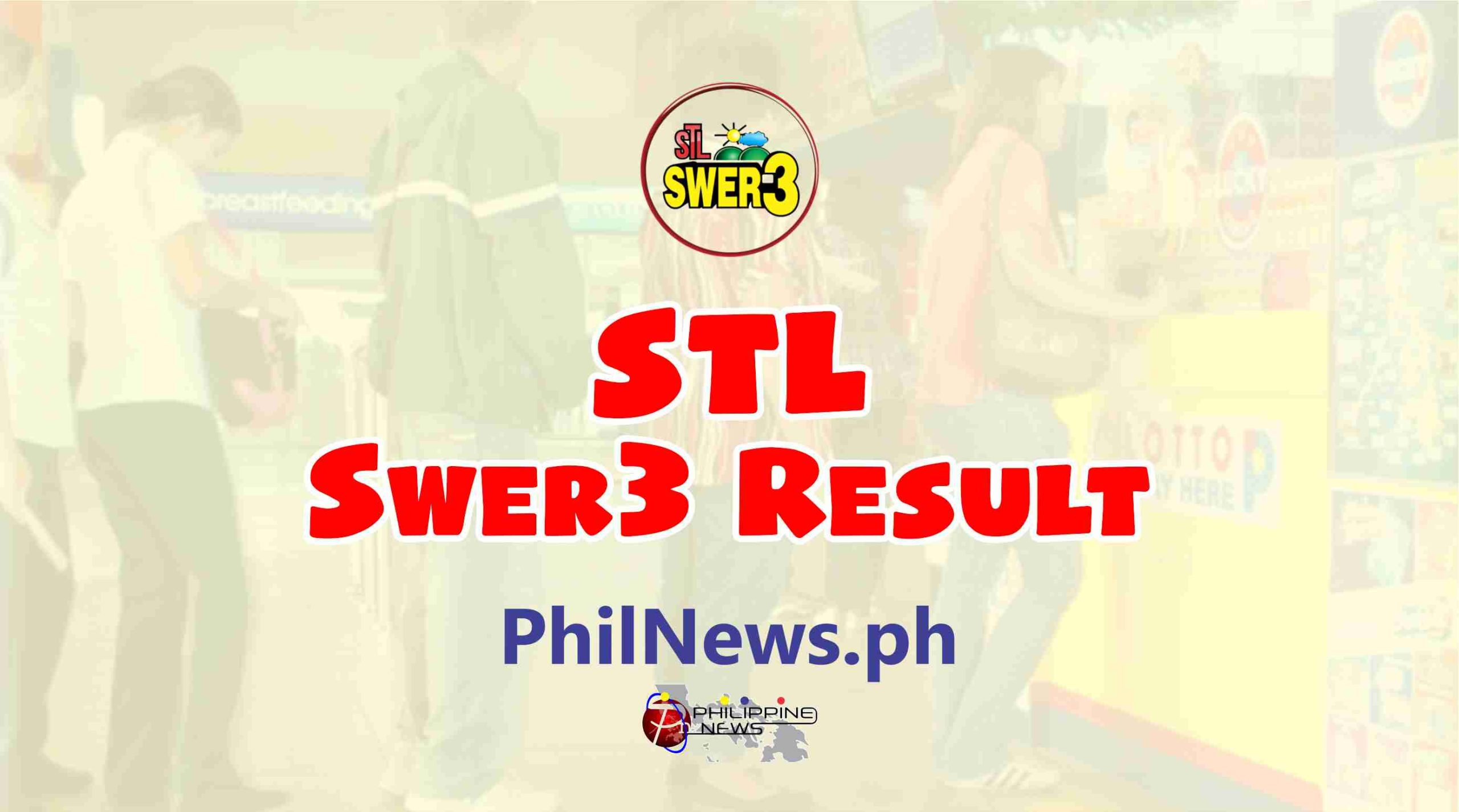 STL Swer3 Lotto Result
