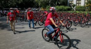 San Juan City Launches Solar-Powered Bike Pit Stop for Gov't Employees