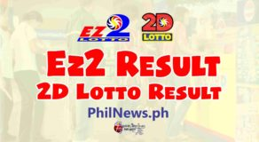 EZ2 RESULT, Monday, January 25, 2021