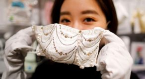 Japan Launches Luxurious Face Masks Worth 1 Million Yen
