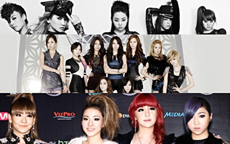 female k-pop stars