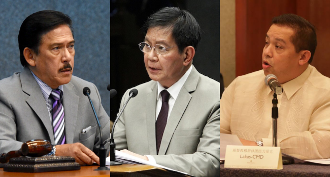 Lacson, Romualdez Developed Immunity To COVID After Vaccine – Sotto