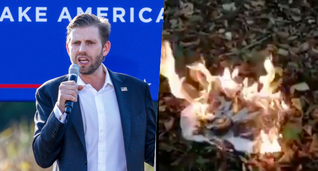Eric Trump Ballot Burning Video Fake – Virginia Beach City Officials