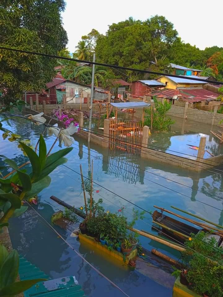 Floodwaters of Pakil Laguna