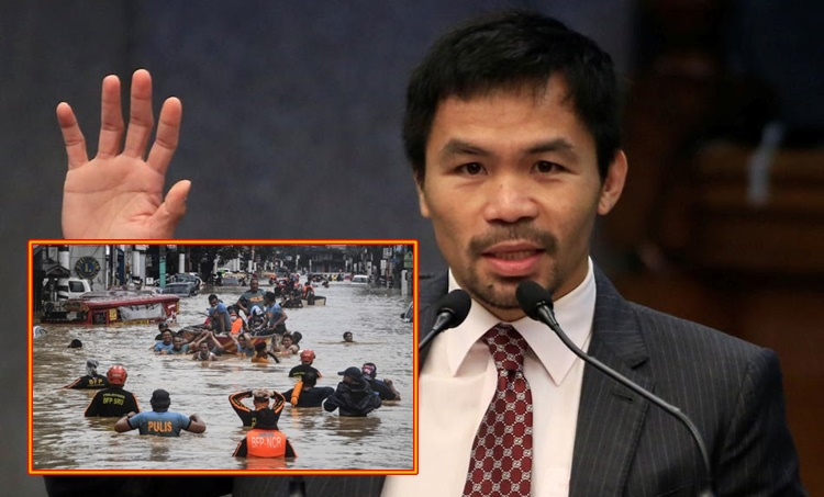 manny pacquiao flooding solution