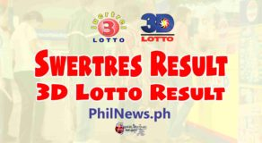 SWERTRES RESULT Today, Thursday, May 13, 2021
