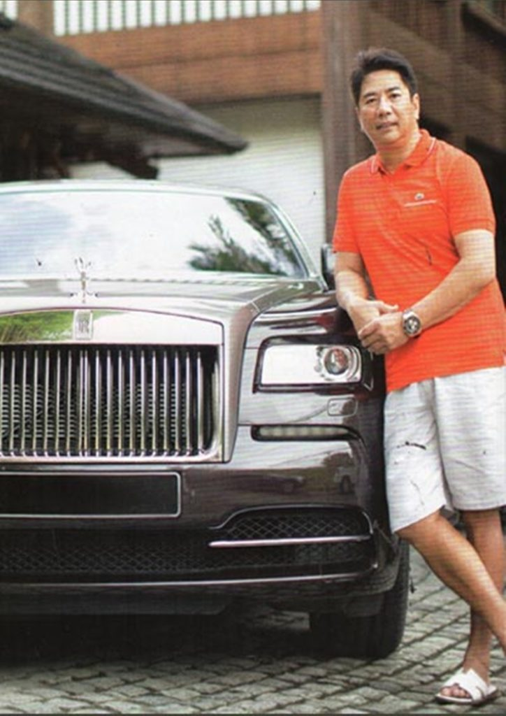 willie revillame rolls-royce