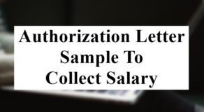 Authorization Letter Sample to Release Information
