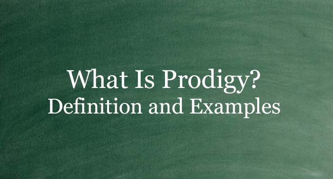 WHAT IS PRODIGY