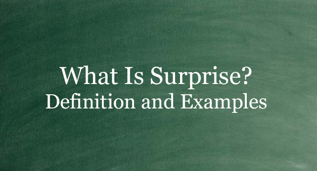 WHAT IS SURPRISE
