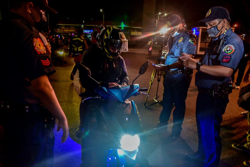 Police Intensify Searches