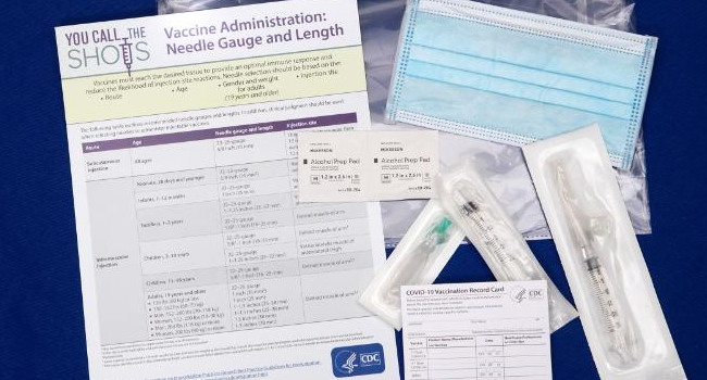 COVID-19 Vaccination Cards Required For People Getting Vaccine