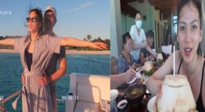 "Alex Gonzaga Shares ""Honeymoon Slash Family Vacation"" In Amanpulo"