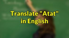 "Atat in English – Translate ""Atat"" in English"