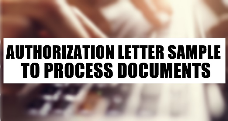 Authorization Letter Sample
