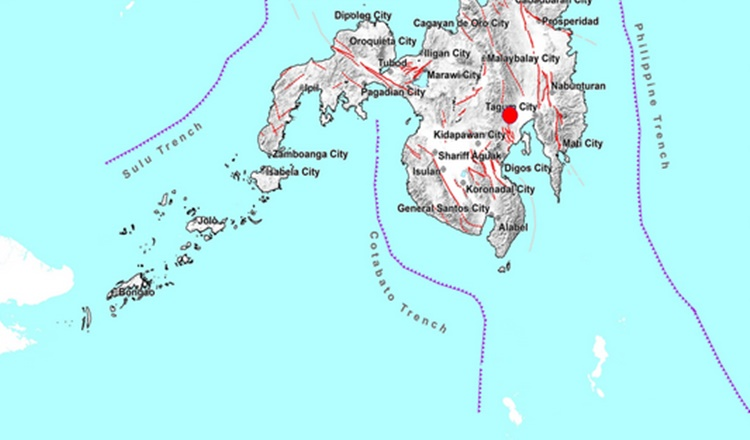Earthquake Davao Del Norte
