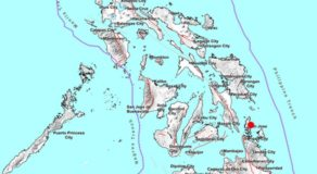 JUST IN: 3.2 Magnitude Earthquake Hits Dinagat Islands