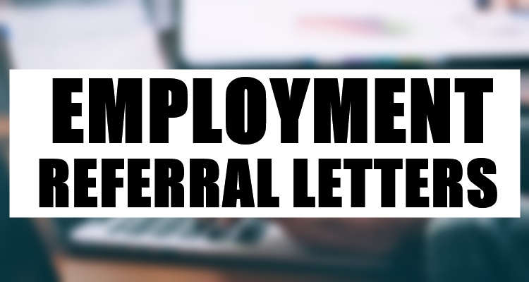 Employment Referral Letters