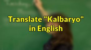 "Nagbabadya in English – Translate ""Nagbabadya "" in English"