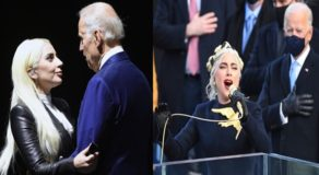 VIDEO: Lady Gaga Stirring Performance Of US National Anthem At Joe Biden's Inauguration
