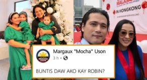 Mocha Uson Finally Speaks About Pregnancy Rumors & Robin Is The Father