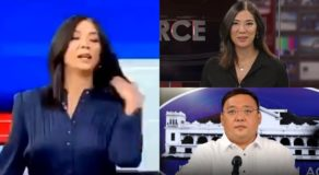 "Pinky Webb Says ""Hair Flip Is Life"" On Viral Moment With Harry Roque"