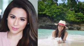 Toni Gonzaga Celebrates 37th Birthday At The Beach