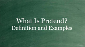 What Is Pretend? Definition And Usage Of This Term