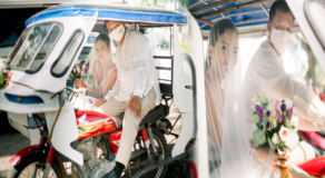 "Father Tricycle Used as ""Bridal Trike"" to His Daughter's Wedding Goes Viral"