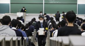 Male Exam-Taker Arrested After Refusing to Leave Toilet in Japan